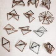 富樫 麻美|glass brooch|2013