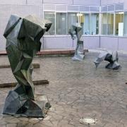 佐々木けいし|由利組合総合病院モニュメント|1994